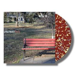 Bench Maroon W/Cream + Grey Splatter Vinyl 7