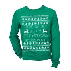 Ugly Christmas Kelly Green Crewneck
