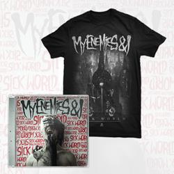My Enemies & I - Sick World CD + T-shirt