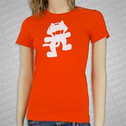 Anniversary Logo Orange Girl Shirt