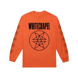 Double Pentagram Burnt Orange