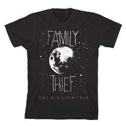 Moon Black T-Shirt