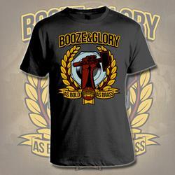 As Bold As Brass Black T-Shirt