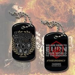 *Last One* The Urgency Dog Tag