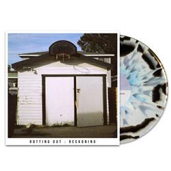 Rotting Out White/Black w/Baby Blue Splatter LP