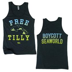 Free Tilly Green Unisex Tank Top