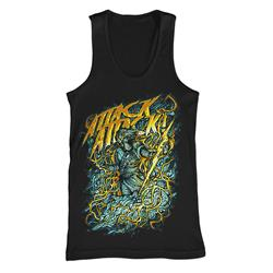 God Of Lightning Black Tank Top