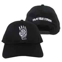 Brain Pain Black Snapback Hat