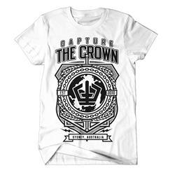 Globe Crest White T-Shirt