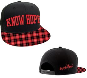 Know Hope Plaid Snapback