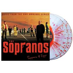 Peppers & Eggs Blood Splatter Vinyl 2X LP