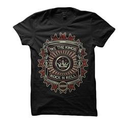 Rock N Roll Black Girl Shirt