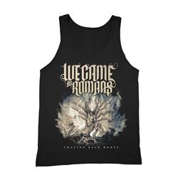 Tracing Back Roots Black TankTop