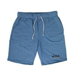 Simple Logo Royal Blue Sweat Shorts
