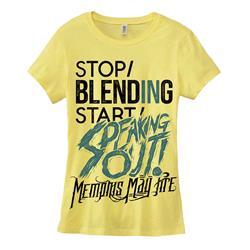 Speaking Out Lemon Girls Tee