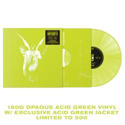 Erase Me Acid Green Vinyl W/ Acid Green Jacket -LP