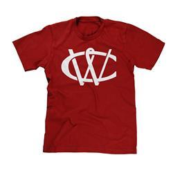 CW Monogram Cardinal Red