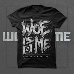 Woe, Is Me - Number[s] Logo Black