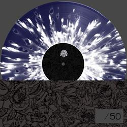 Shift Limited Edition Midnight Blue w/ White Splatter Vinyl + Screen Printed Cover