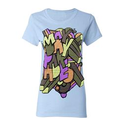 Scramble Light Blue Girls T