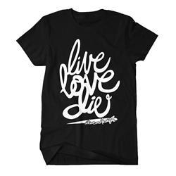 Live Love Die Black