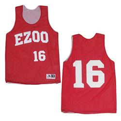 EZOO Red/White Mesh
