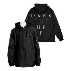 Dark Future Black Windbreaker