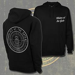 Compass Black Hooded Pullover