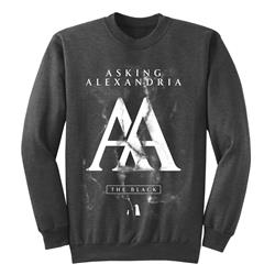AA The Black Grey Crewneck