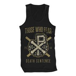 Death Crest Black Tank Top *Final Print*