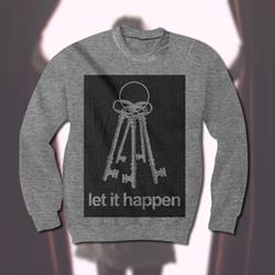 Keys Heather Grey Crewneck Sweatshirt