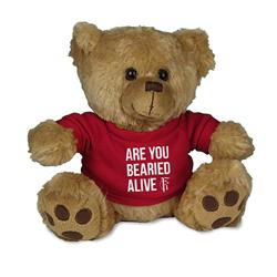Are You BEARied Alive?  Mini Teddy Bear