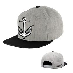 Anchor Black/Grey Snapback