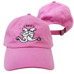 Ghost Pink Dad Hat