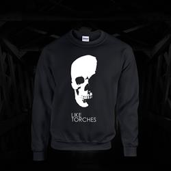 Skull Black Crewneck