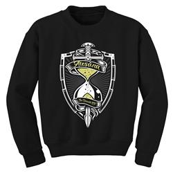 *Last One* Hourglass Black Crewneck Sweatshirt
