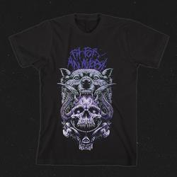 Wolf Skull Black