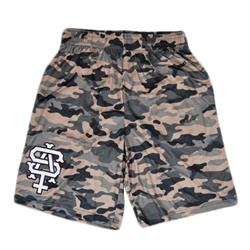 Team Logo Camo Shorts