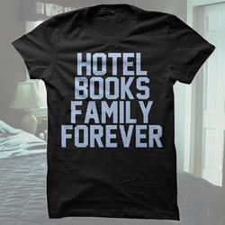 Family Forever Black T-Shirt