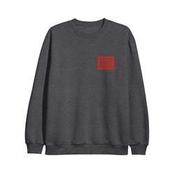 Coffin Heather Grey Crewneck Label Merchandise