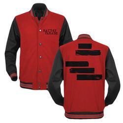 Custom Varsity Red W/ Black