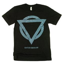 Blue Logo Heather Black