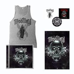 Deathless CD + Tank Top + Poster + Sticker Pack + Digital Download