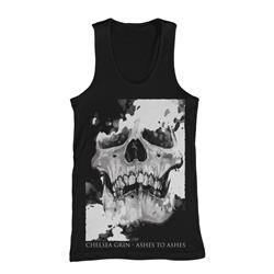 Skull Decay Black Tank Top