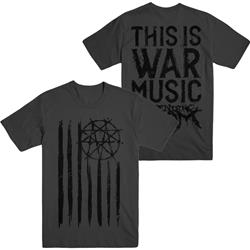 This Is War Music Flag Grey