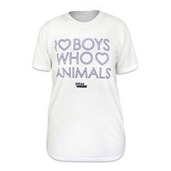 I <3 Boys Who <3 Animals Tee