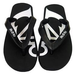 Anchor Black Flip Flops