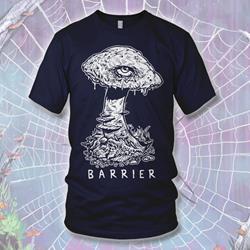 Mushroom Navy T-Shirt
