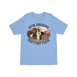 Love Animals Youth Light Blue