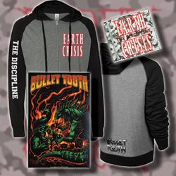 The Discipline CD + Zip-Up Lightweight Sweatshirt + Poster Bundle